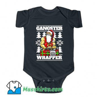 Gangsta Gangster Rap Baby Onesie