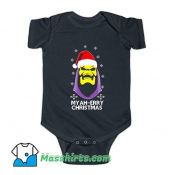 Skeletor Myah Merry Christmas Baby Onesie