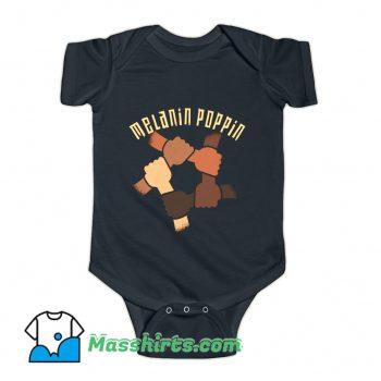 Melanin Poppin Baby Onesie