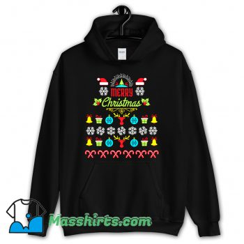 Merry Christmas Ugly Sweater Hoodie Streetwear
