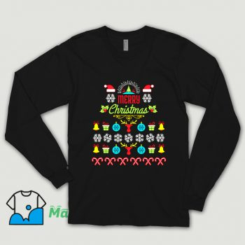 Cool Merry Christmas Ugly Sweater Shirt