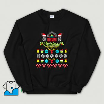 Official Merry Christmas Ugly Sweater Sweatshirt