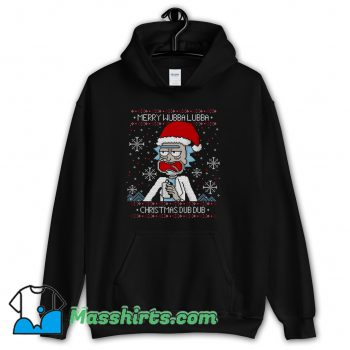 Merry Wubba Lubba Ugly Christmas Hoodie Streetwear
