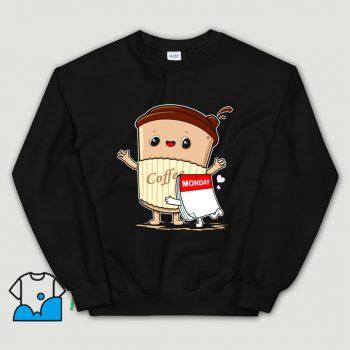 Cute Monday Need Coffee Sweatshirt