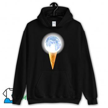 Moon Scoop Icecream Cone Hoodie Streetwear