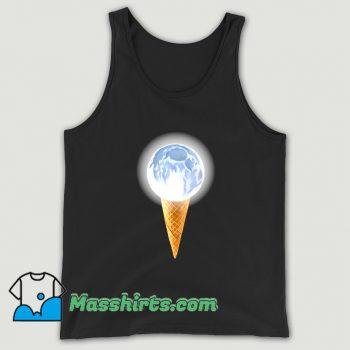 Moon Scoop Icecream Cone Tank Top