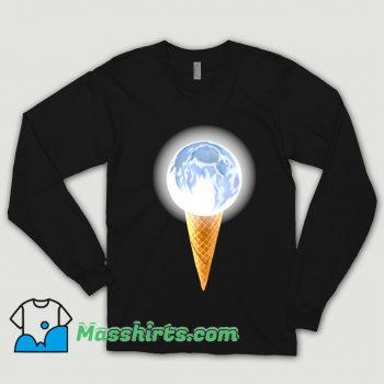 Classic Moon Scoop Icecream Cone Shirt