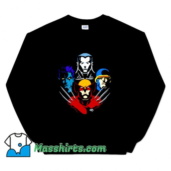 New Mutant Rhapsody Brown Sweatshirt