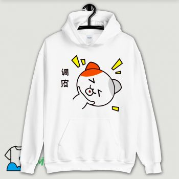 Naughty Little Cat Hoodie Streetwear
