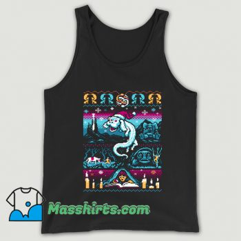 Neverending Christmas Ugly Sweater Tank Top