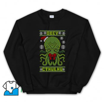 Obey Cthulhu Sweater Ugly Christmas Sweatshirt
