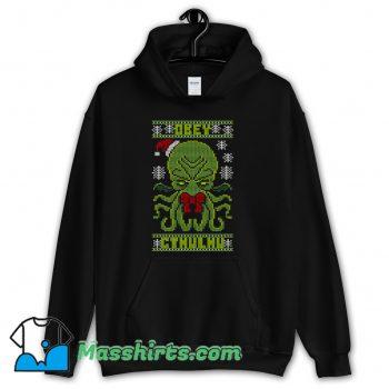 Obey Cthulhu Sweater Ugly Christmas Hoodie Streetwear