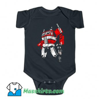 Cartoon Comic Prime 2 Baby Onesie