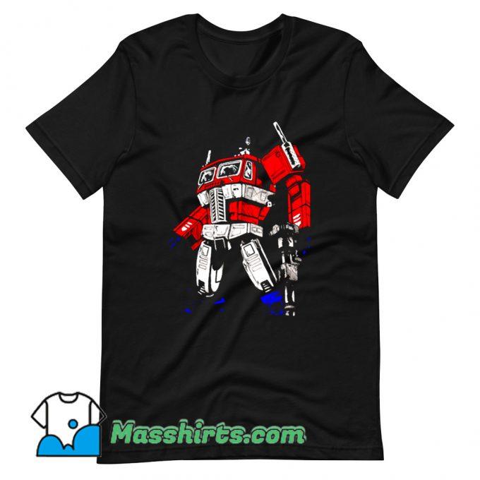 Awesome Cartoon Comic Prime 2 T Shirt Design