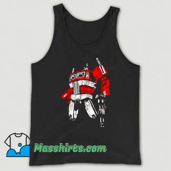 Cartoon Comic Prime 2 Tank Top On Sale