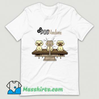 Pug Machine T Shirt Design