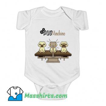 Pug Machine Baby Onesie