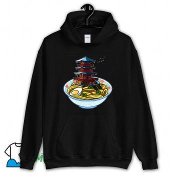 Food Ramen Temple Hoodie Streetwear