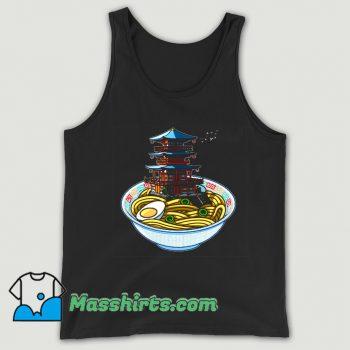 Food Ramen Temple Tank Top