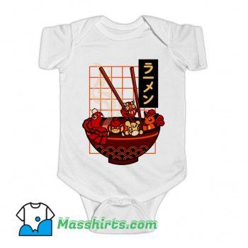 Red Ramen Baby Onesie