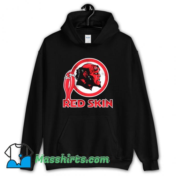 Cool Red Skin Hoodie Streetwear