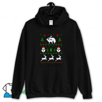 Romantic Reindeers Hoodie Streetwear