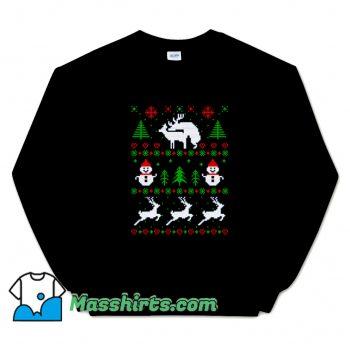 Romantic Reindeers Sweatshirt