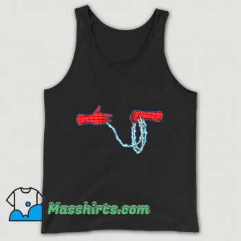 Cartoon Run The Webs Tank Top