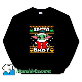Santa Baby Yoda Christmas Sweatshirt