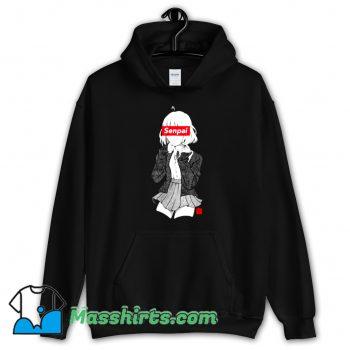 Official Anime Manga Senpai Hoodie Streetwear