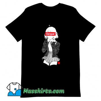 New Anime Manga Senpai T Shirt Design