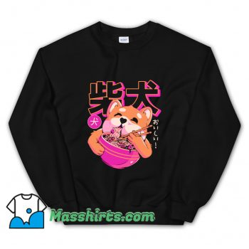 Awesome Shiba Noodles Sweatshirt