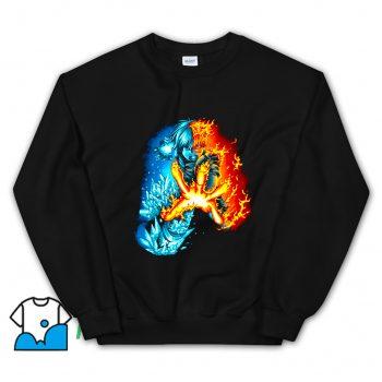 Classic Shoto Todoroki Fan Art Sweatshirt
