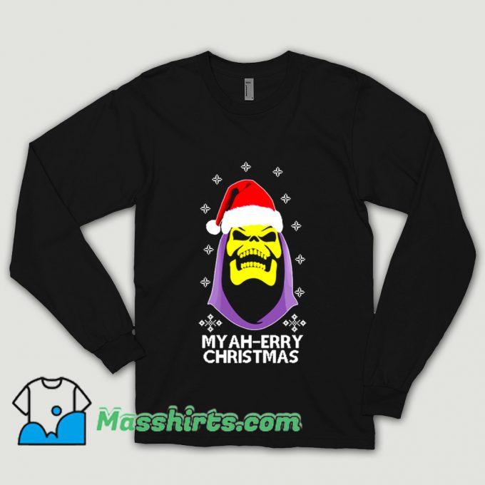 Skeletor Myah Merry Christmas Shirt