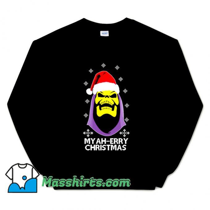 Skeletor Myah Merry Christmas Sweatshirt