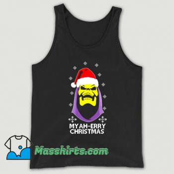 Cool Skeletor Myah Merry Christmas Tank Top