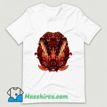 Vintage Snake T Shirt Design