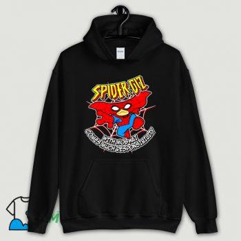 Cartoon Spider Giz Hoodie Streetwear