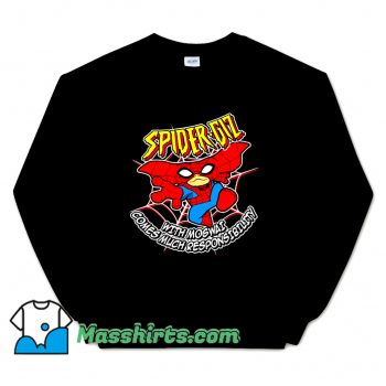 Cartoon Comic Spider Giz Sweatshirt