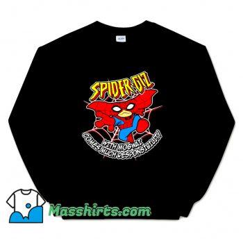 Cartoon Comic Spider Giz Sweatshirt