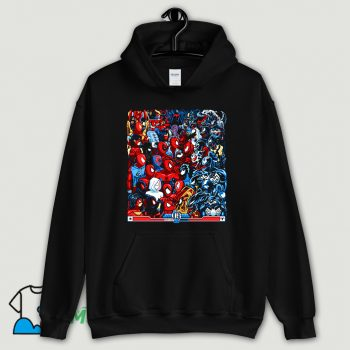 Cartoon Spiders VS Symbiotes Hoodie Streetwear
