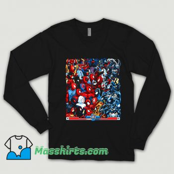 Funnny Cartoon Spiders VS Symbiotes Shirt