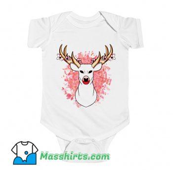 Spring Deer Baby Onesie