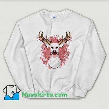 Awesome Animal Spring Deer Sweatshirt