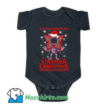 Cool Stranger Christmas Baby Onesie