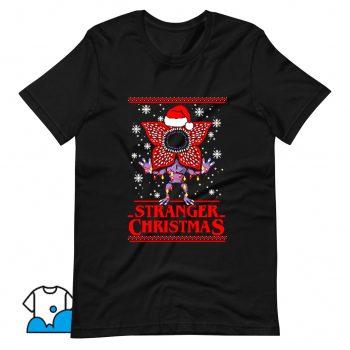 Cool Stranger Christmas T Shirt Design