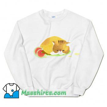 Official Summer Heat Watermelon Cat Sweatshirt