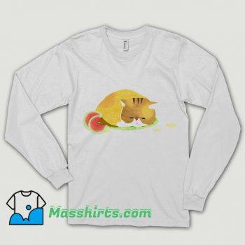 Summer Heat Watermelon Cat Shirt