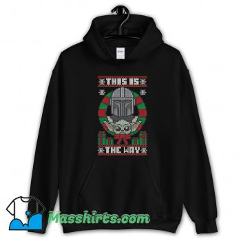 This Is The Way Sweater Ugly Christmas Hoodie Streetwear
