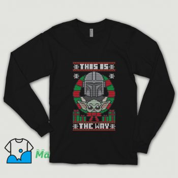 Vintage This Is The Way Sweater Ugly Christmas Shirt